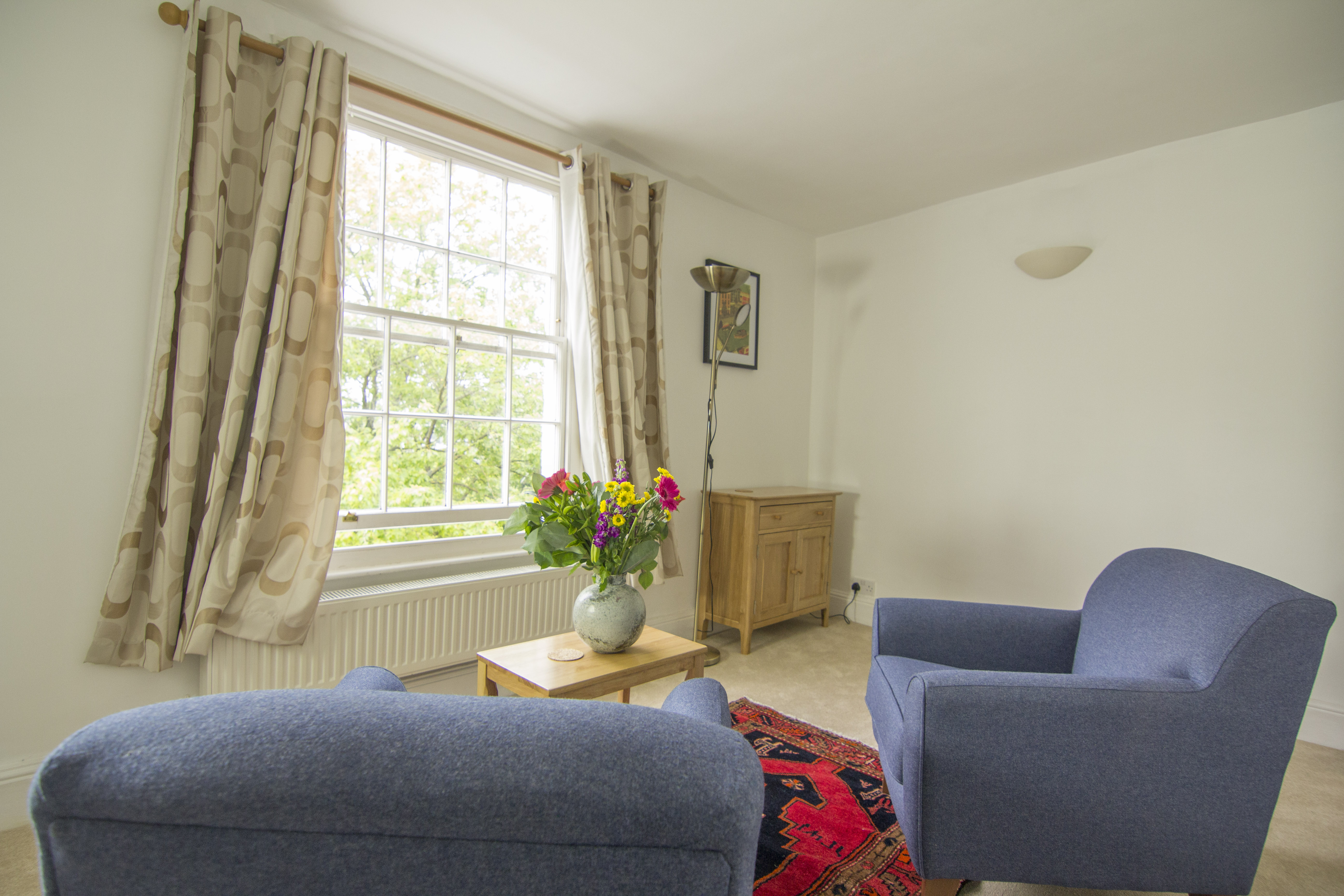A choice of relaxed, comfortable and professional talking therapy rooms situated in the heart of Bristol